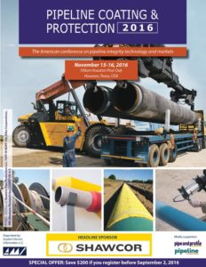 Pipeline Coating & Protection 2016 program