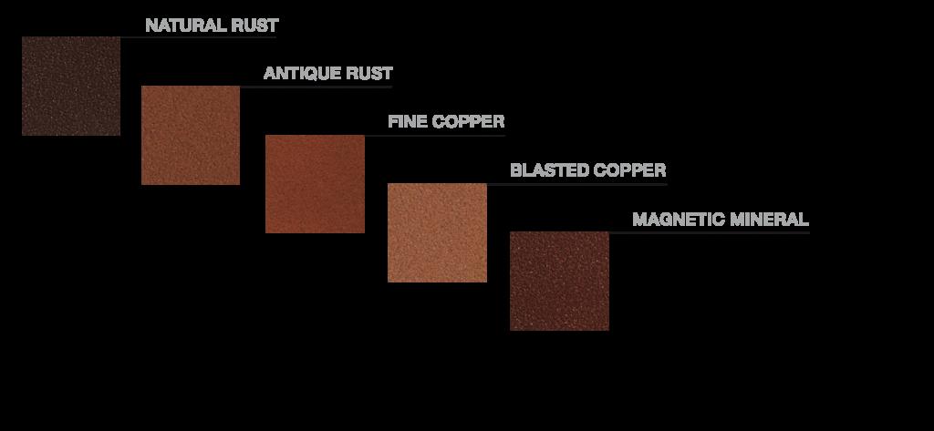 metals element colours