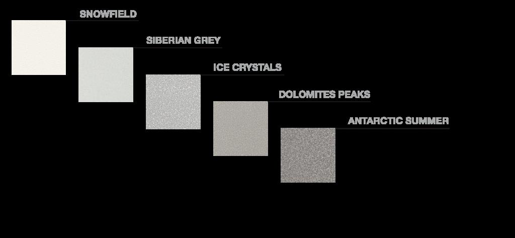 Snow element colours
