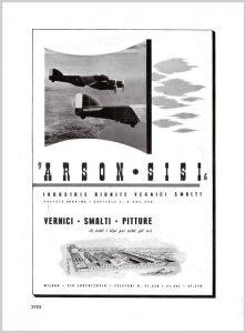 1941 - ARSON-SISI aircraft paints advertising