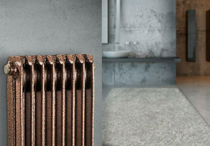 vintage copper radiators