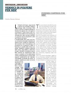 powder coatings for MDF - VDL magazine