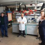 Visit to the Arsonsisi's liquid factory.
