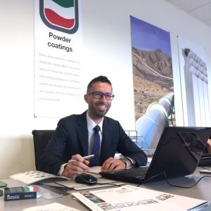 Luca Troiani Powder Coatings Area Manager in Italy